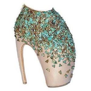 """Alexander McQueen """"Armadillo"""" Heels"""