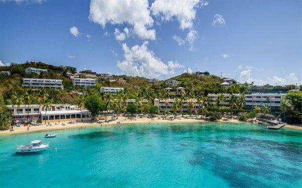 Bolongo Bay Beach Resort in St. Thomas, the U.S. Virgin Islands