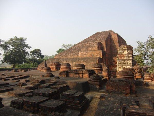 Take a Trip to the Ruins in Nalanda