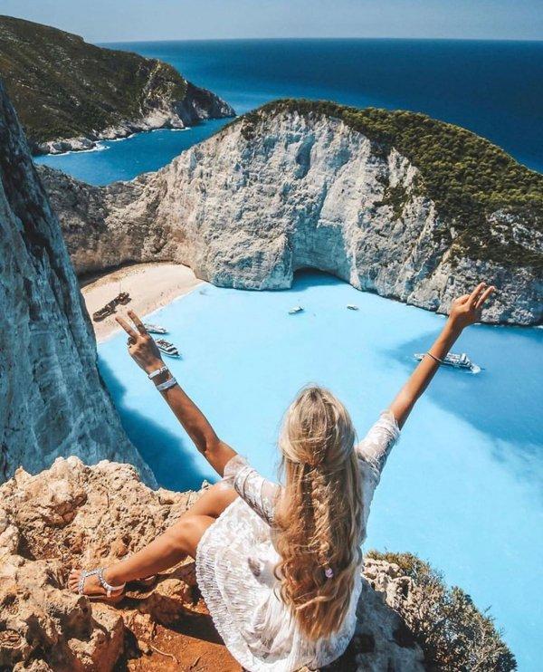 Azure, Vacation, Rock, Turquoise, Sea,