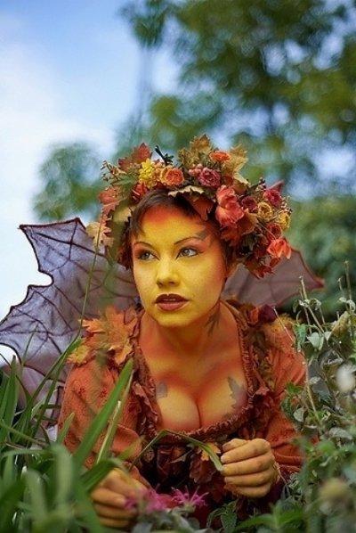 flower,carnival,autumn,fairy,mythology,