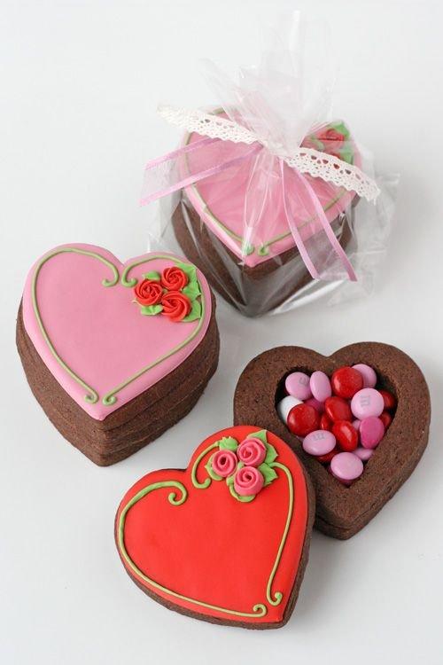 food,pink,heart,dessert,valentine's day,