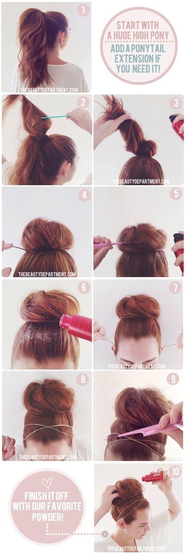Cotton Candy Bun 25 Becoming Ways To Wear A Bun Hair