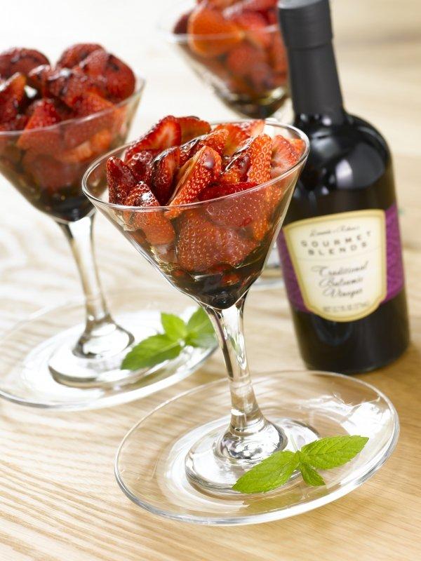 Strawberries and Balsamic Vinegar