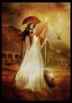 Athena - Goddess of Wisdom, Warfare, Battle Strategy, Heroic Endeavor, Handicrafts and Reason