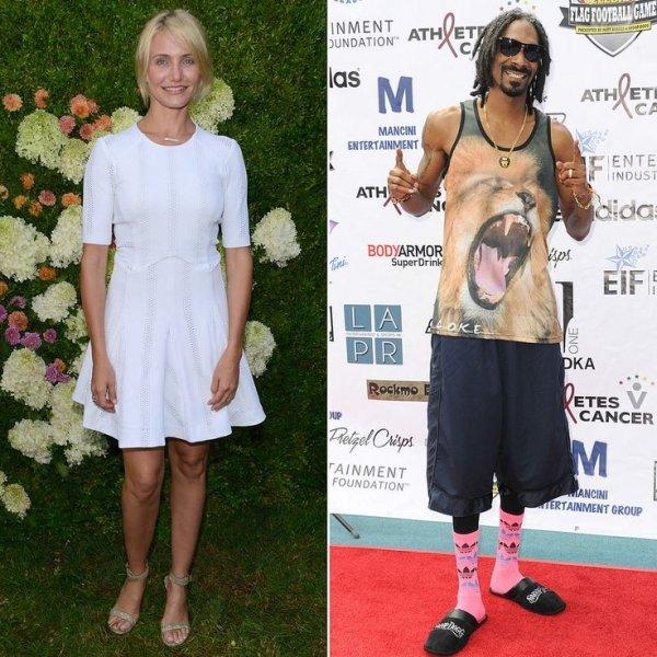 Cameron Diaz & Snoop Dogg
