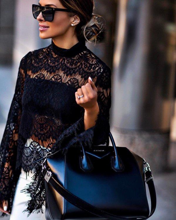 black, clothing, fashion, leather, spring,