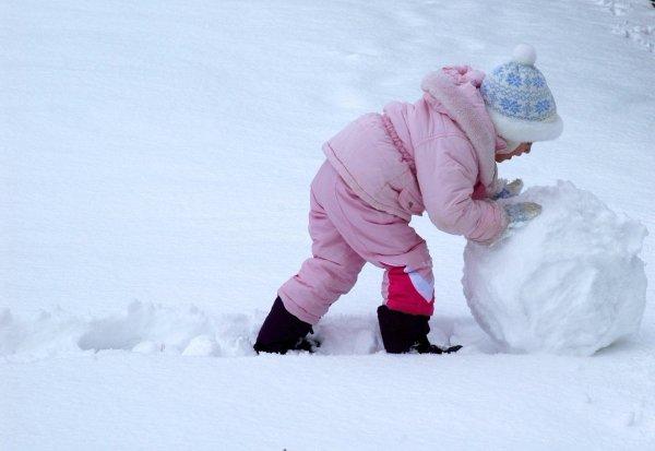 Make a Medium Sized Snowball