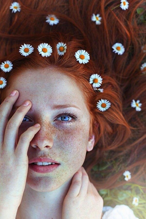 face,hair,beauty,girl,flower,