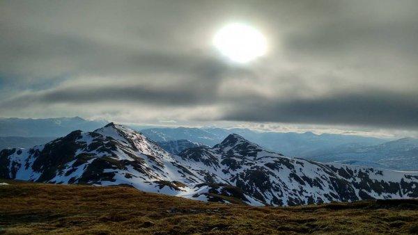 sky, mountainous landforms, highland, mountain, mountain range,