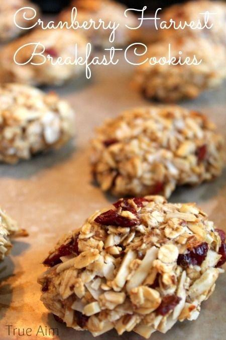 Cranberry Breakfast Cookie