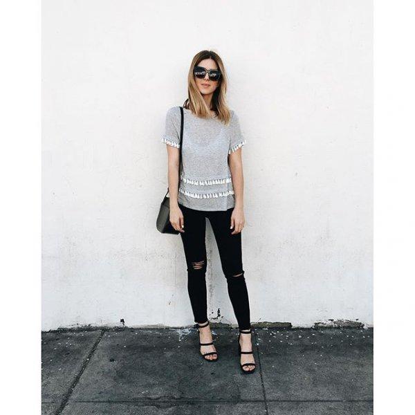 clothing, black, jeans, denim, sleeve,