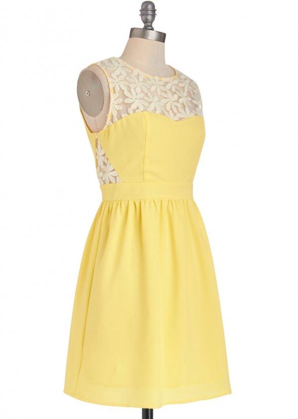 Lemonade for Each Other Dress