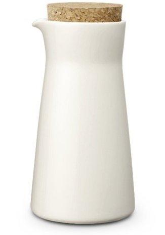 Teema 6-3/4-ounce Milk Jar, White