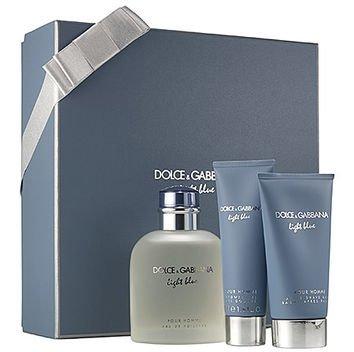 Dolce & Gabbana Light Blue Men's Gift Set
