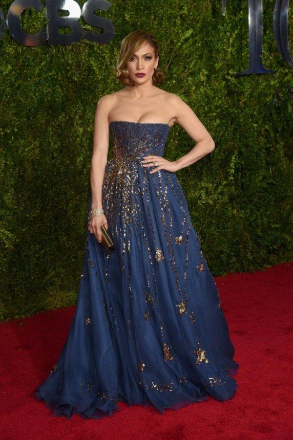 Jennifer Lopez at the Tony Awards