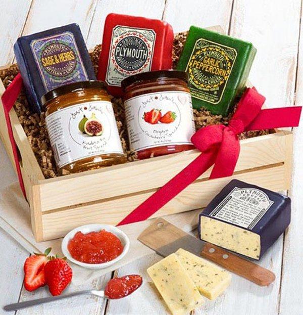 food, gift basket, produce, dessert, hamper,