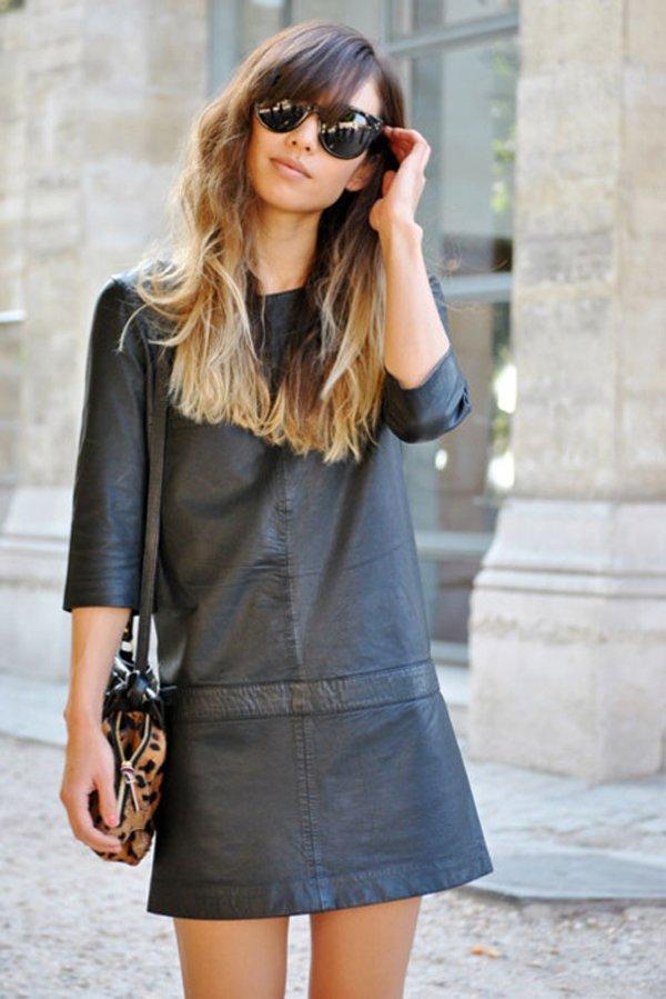 A Shift Mini Dress