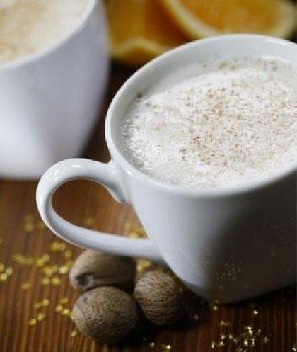 Hot Spiced Almond Milk