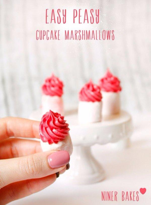 Little Tiny Cupcake Marshmallows