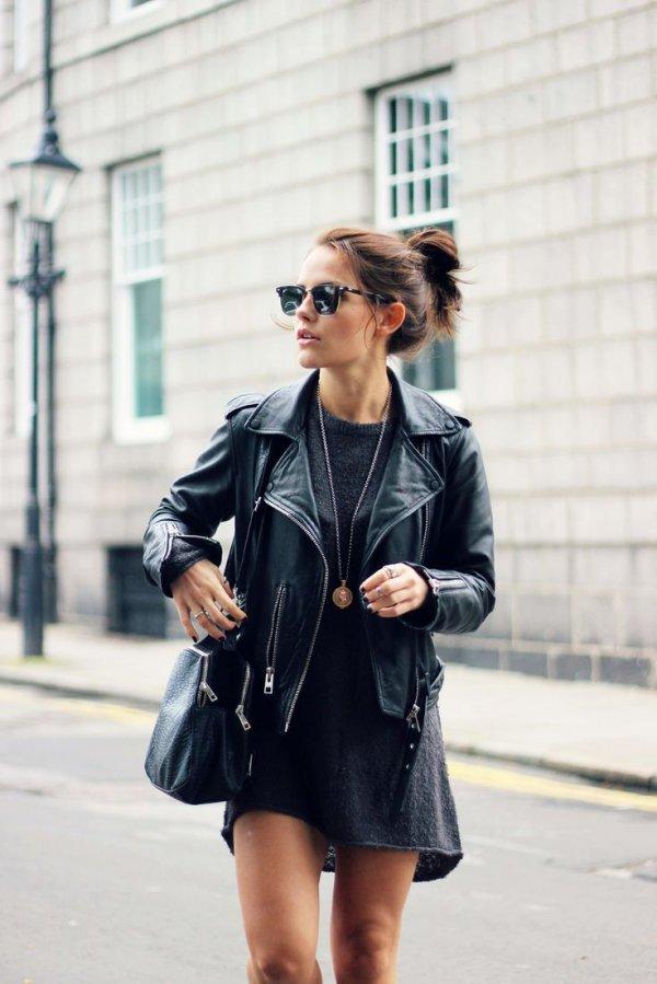 clothing, denim, jacket, road, footwear,