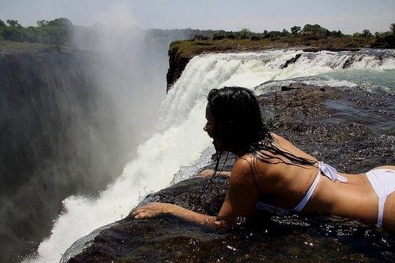 Take a Dip in Devil's Pool, Victoria Falls, Africa