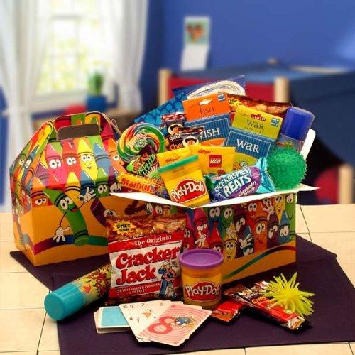 gift basket, play, product, art, basket,