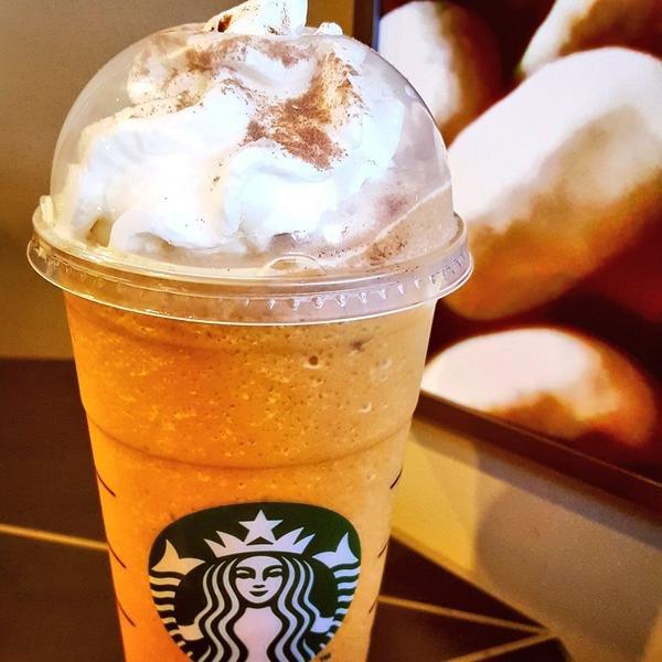 Pumpkin Spice Frappuccino