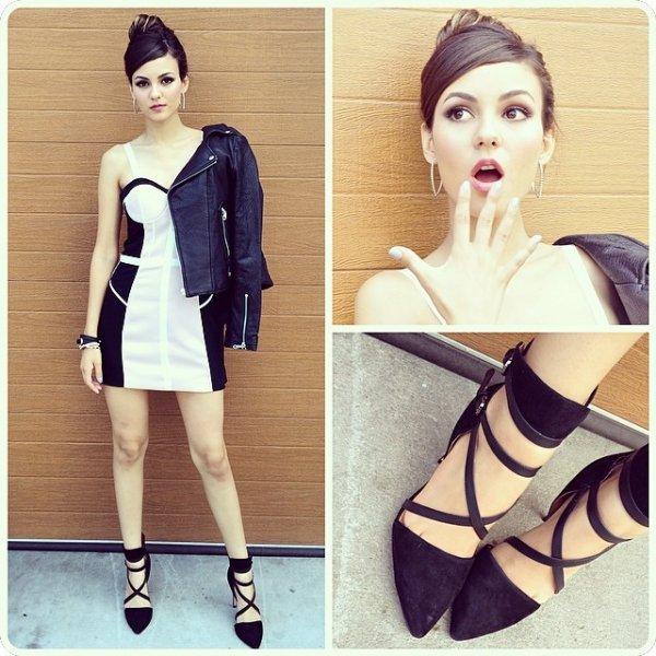 Victoria Justice - Black & White