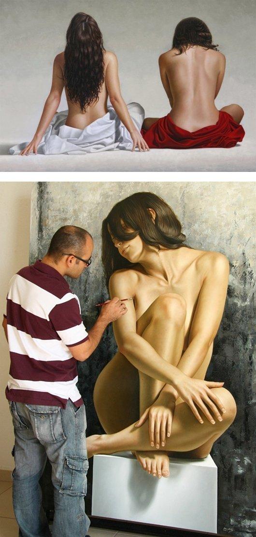 Hyper-realism by Omar Ortiz