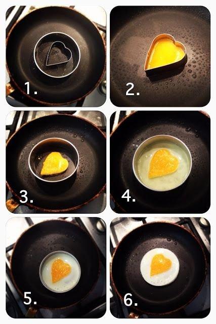 Valentine's Breakfast Eggs