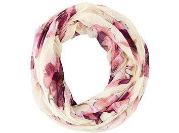 Floral Printed Infinity Scarf