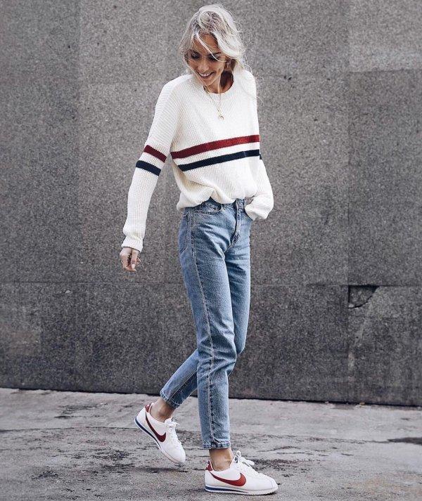 white, clothing, red, footwear, sneakers,