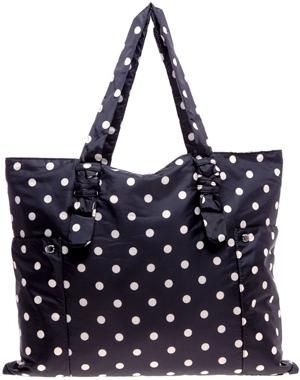 Sonia Rykiel Polka Dot Reversible Day Bag