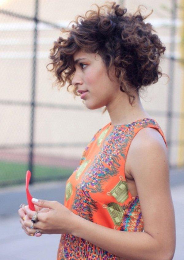 Curly Hair is Super Versatile