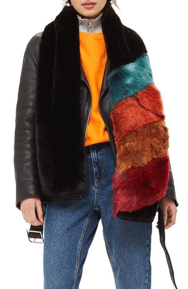 fur clothing, fur, jacket, animal product, fashion model,