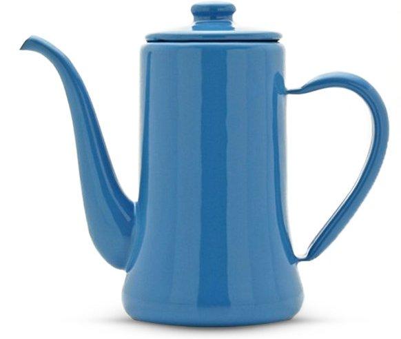 Tsuki Usagi Shirushi Slim Pot, 1.2L, Blue
