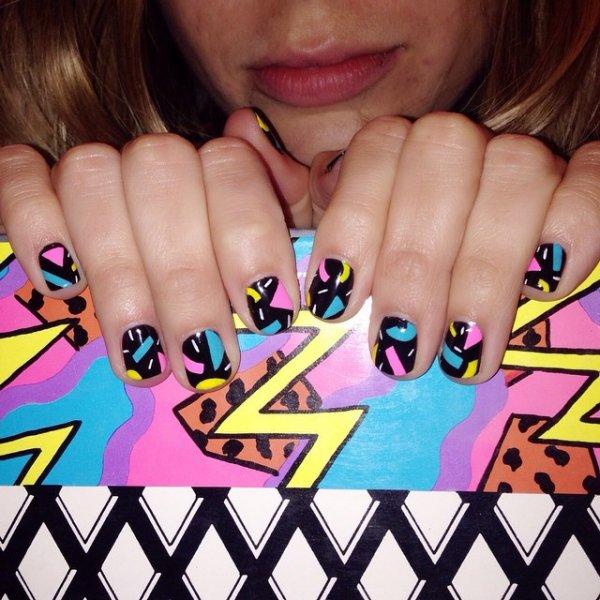 manicure, nail, nail care, cosmetics, acrylic paint,