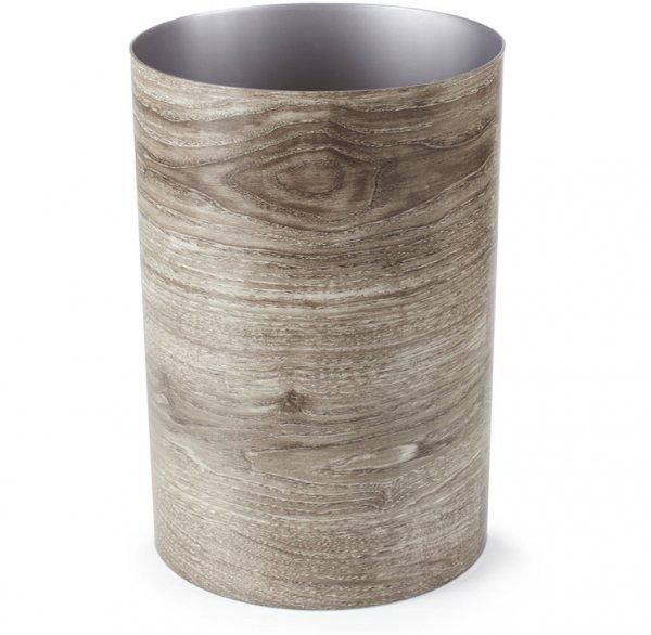 Treela Waste Bin, 4-1/2-Gallon, Barn Wood