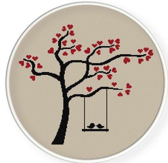 Birds on a Love Tree