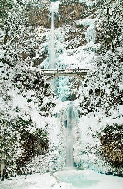 Multonomah Falls, Bridal Veil, Oregon