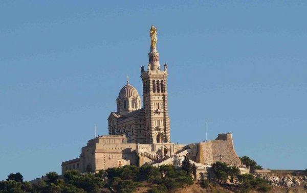 Basilica of Notre-Dame-de-la-Garde, Marseille, France