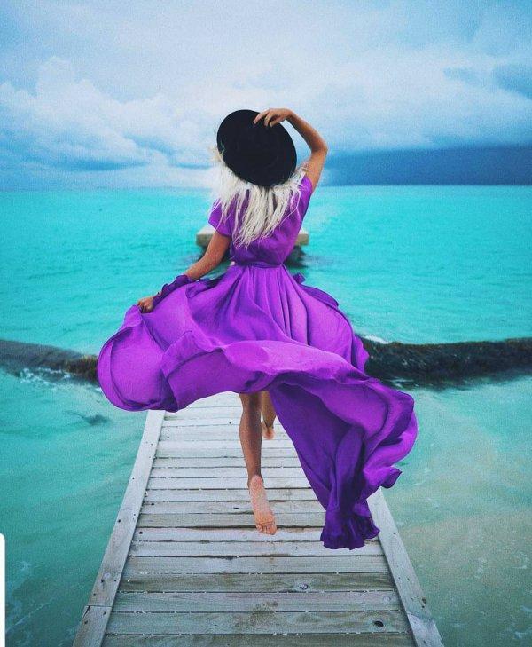 pink, purple, water, beauty, vacation,