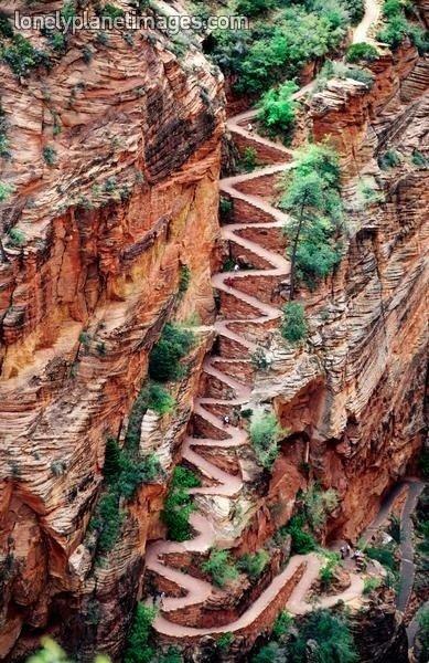 Switchback Trail, Utah, USA