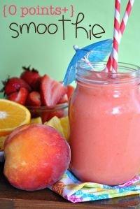 Strawberry Orange Peach Smoothie