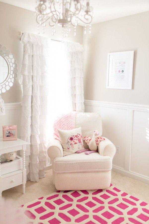 A Charming Baby Girl Nursery
