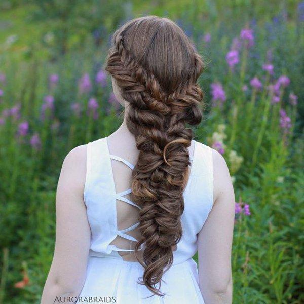 hair, hairstyle, long hair, braid, ringlet,