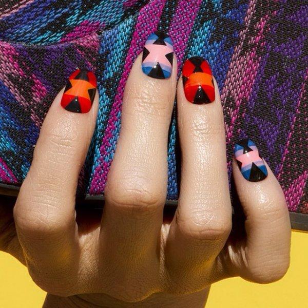 nail, pink, finger, purple, manicure,