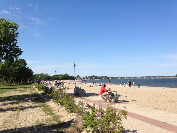 Calf Pasture Beach, Norwalk, Connecticut
