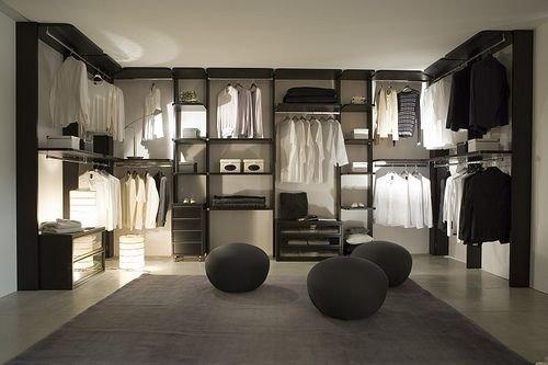 Ordinaire Modern Closet Set Up